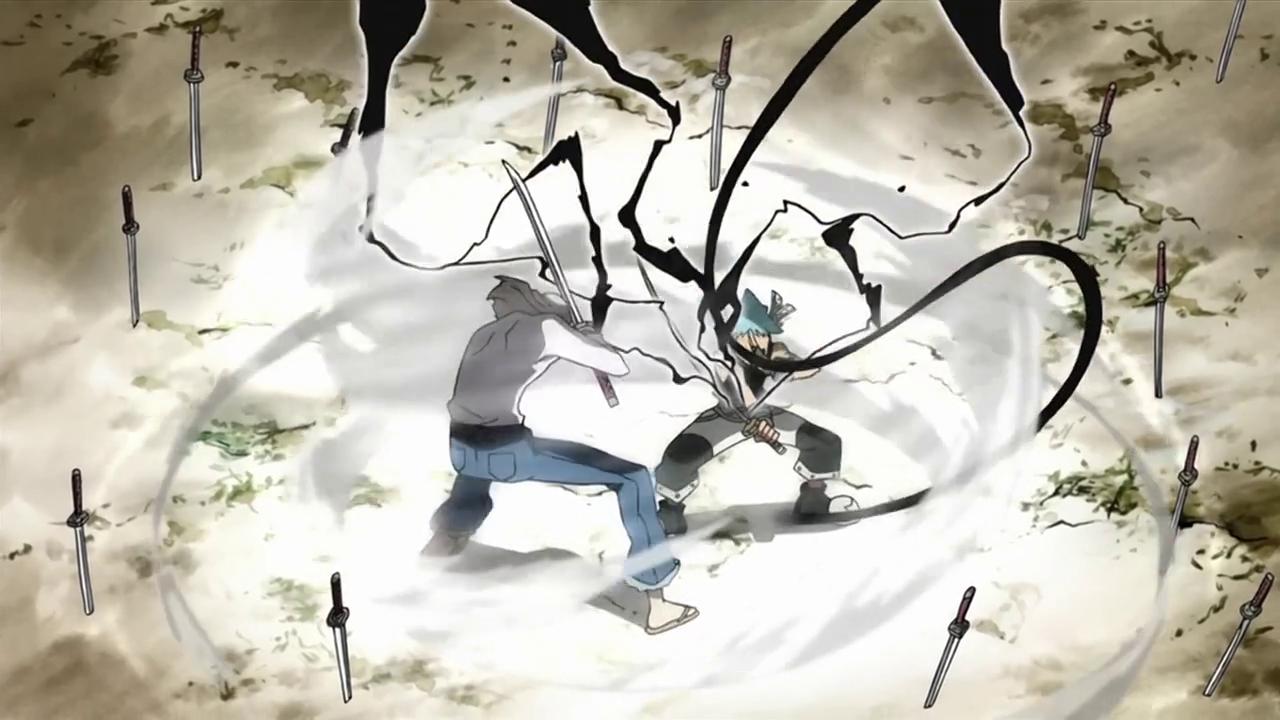 Soul Eater Black Star Tsubaki Demon Shadow Weapon