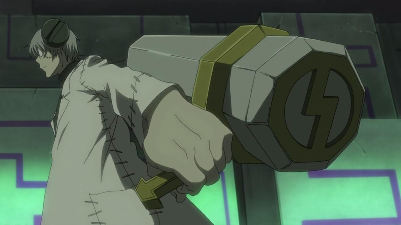 Soul Eater Franken Stein Mjolnir