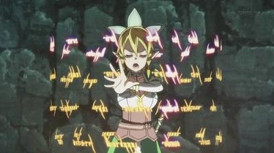 Sword Art Online ALfheim Magic Use Small