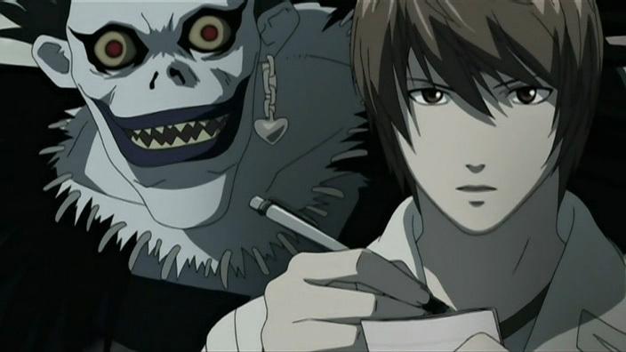 Death Note Rule 4 Light Yagami Ryuk