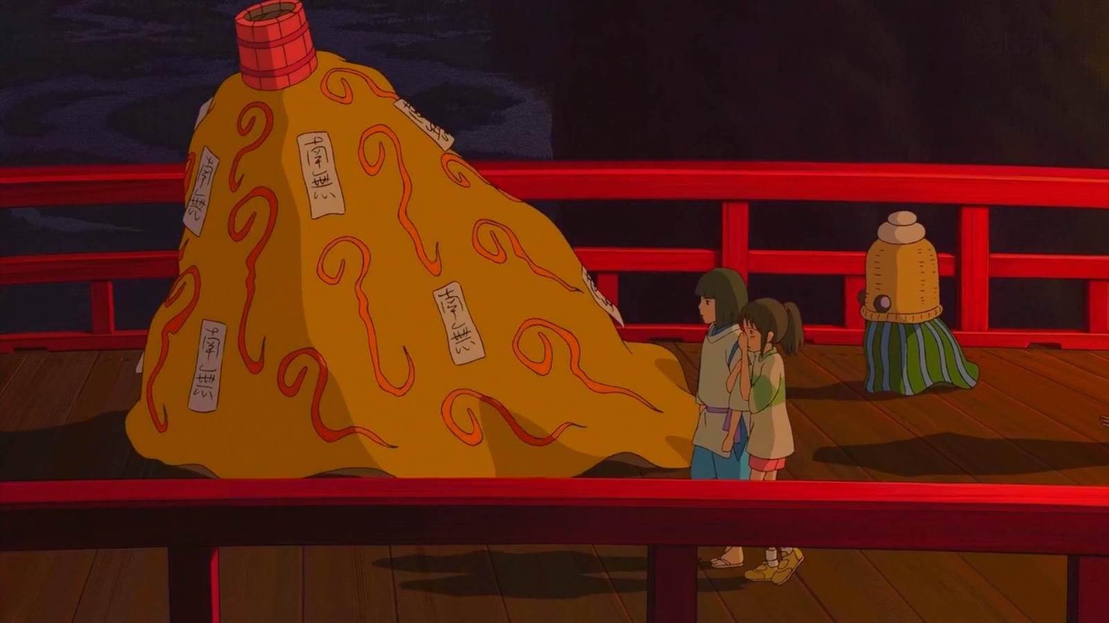 Sen to Chihiro no Kamikakushi, Holding breath