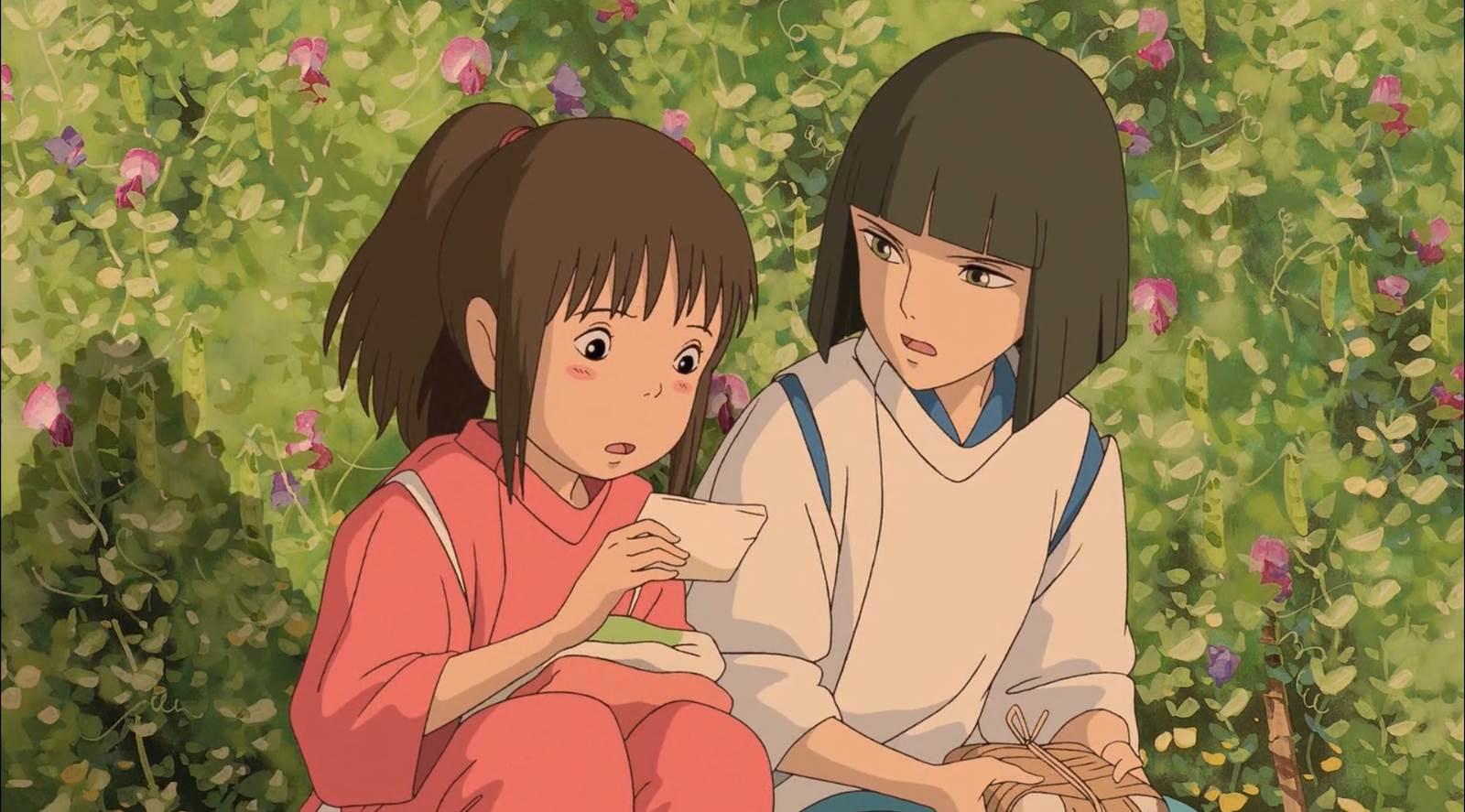 Sen to Chihiro no Kamikakushi, She steals your name