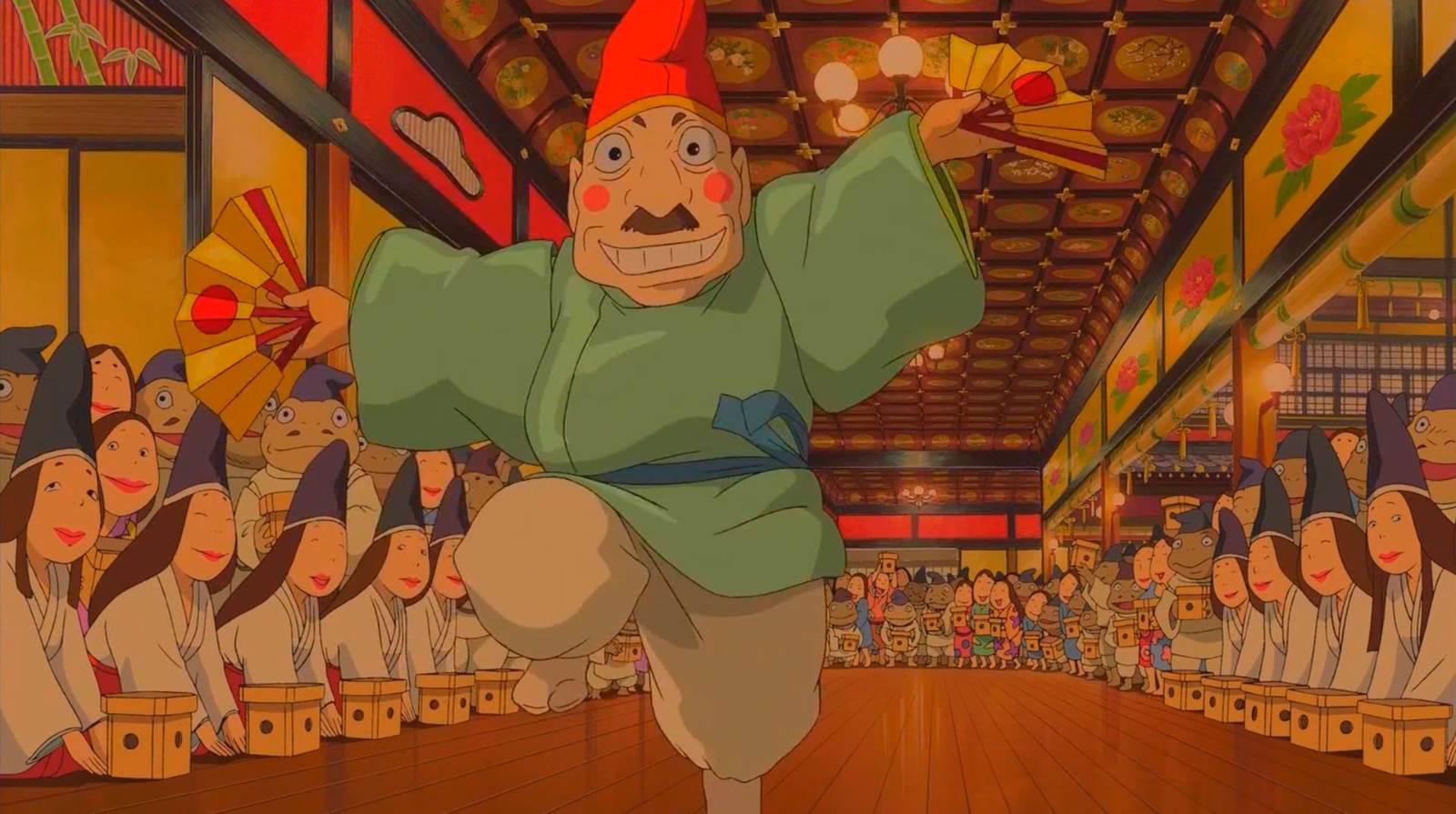 Sen to Chihiro no Kamikakushi, Rich man dance