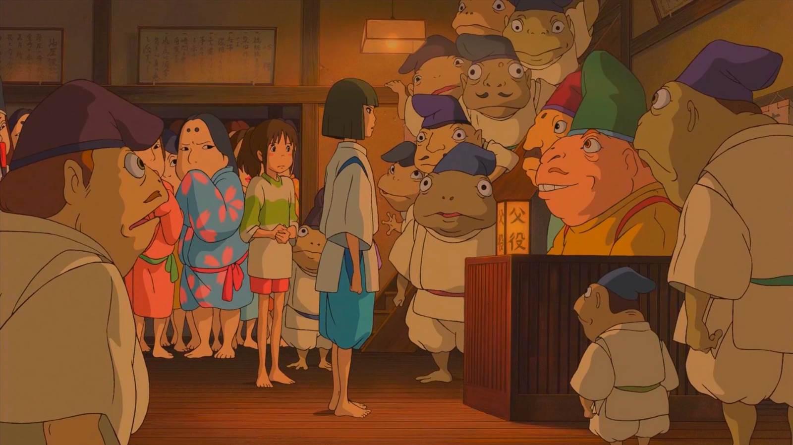 Sen to Chihiro no Kamikakushi, The human smell