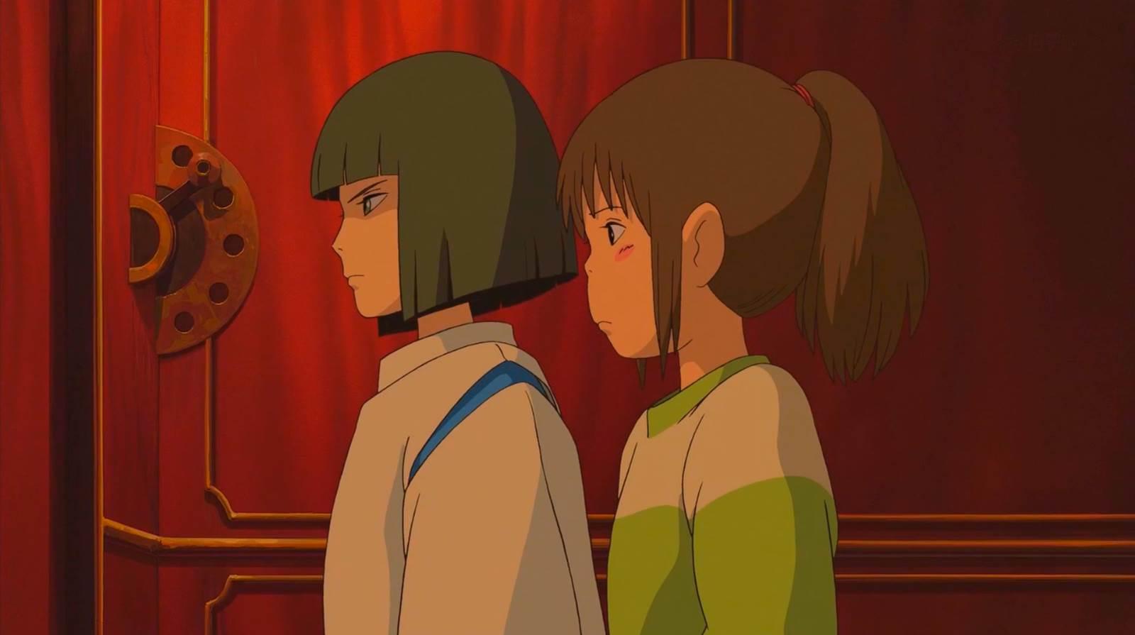 Sen to Chihiro no Kamikakushi, Two Hakus