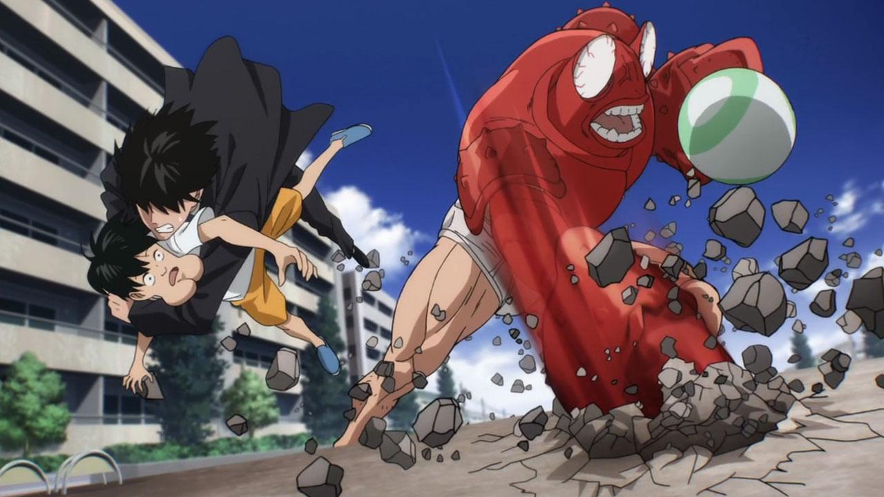 One Punch Man crab man