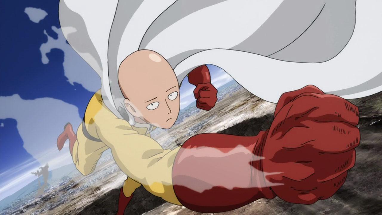 One Punch Man Saitama punch