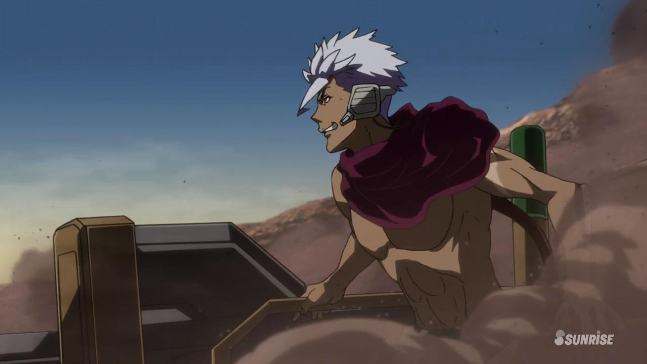 Mobile Suit Gundam: Iron Blooded Orphans Utena dude