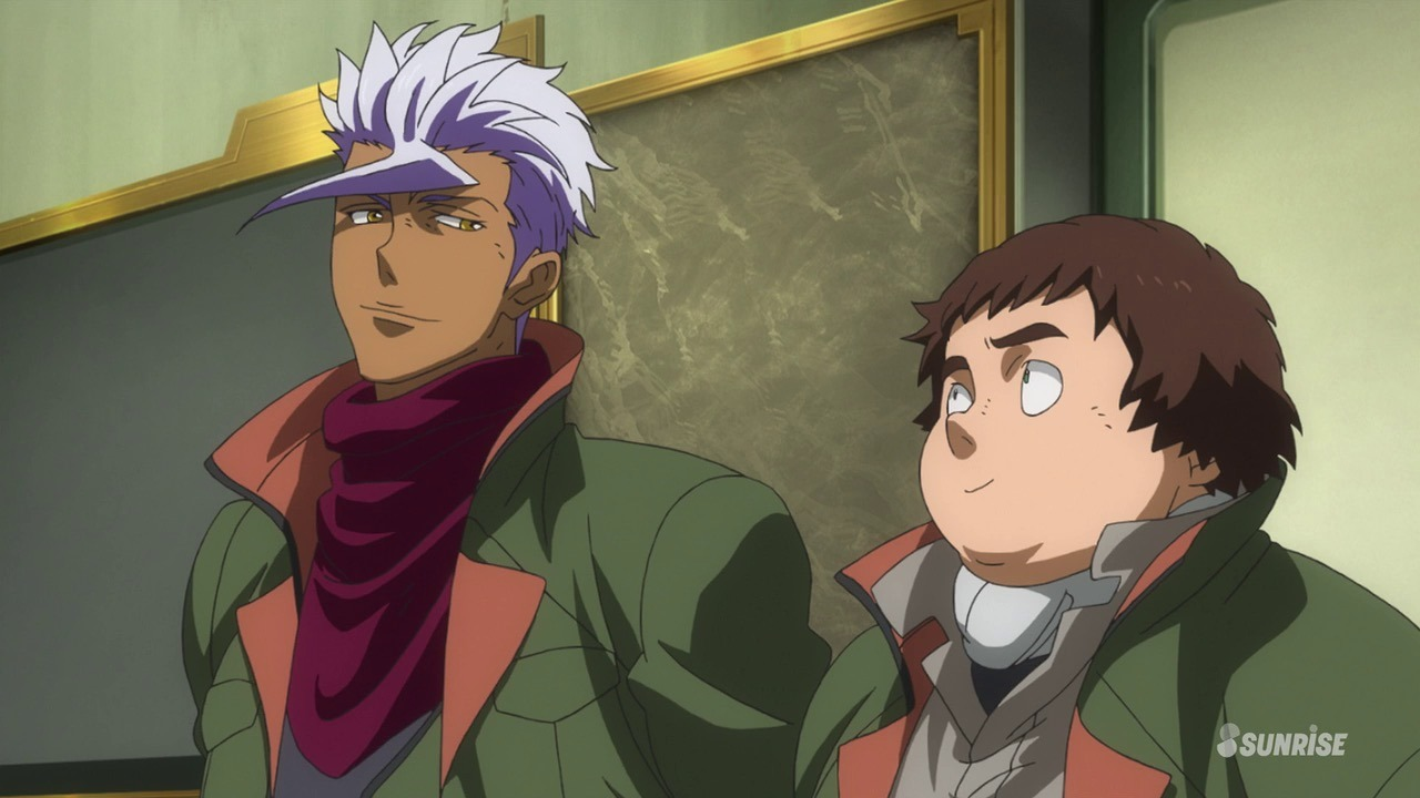 Mobile Suit Gundam: Iron Blooded Orphans biscuit look
