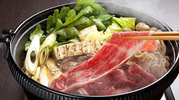 Winter Japanese Foods Sukiyaki