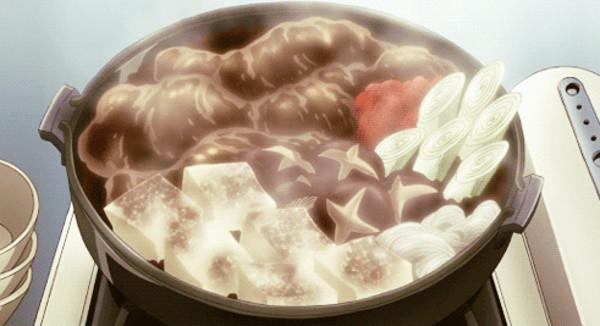 Winter Japanese Foods Blue Exorcist Sukiyaki