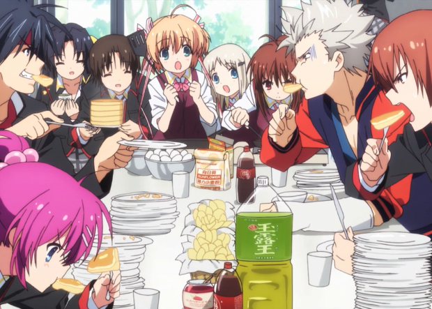 Little Busters! Eating
