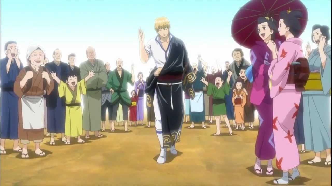 Gintama beginning