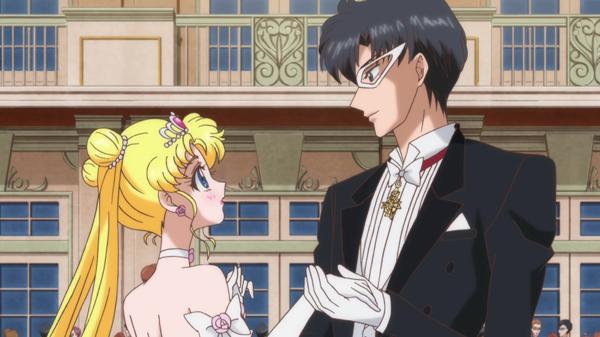 Bishoujo Senshi Sailor Moon: Crystal Usagi Tsukino/Sailor Moon Mamoru Chiba/Tuxedo Kamen