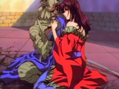Rurouni Kenshin Makoto Shishio and Yumi Komagata