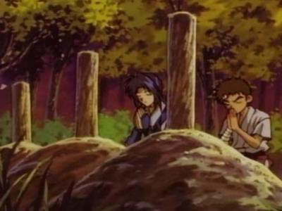 Rurouni Kenshin Misao Makimachi and Eiji Mishima