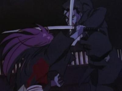 Rurouni Kenshin Kenshin Himura and Hajime Saito
