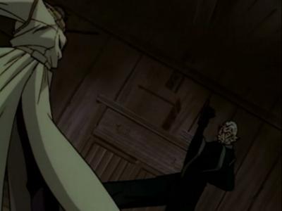 Rurouni Kenshin Okina and Aoshi Shinomori