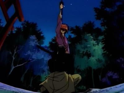 Rurouni Kenshin Kenshin and Jinei Udo
