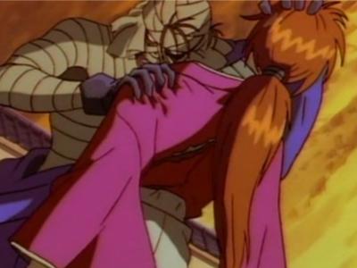 Rurouni Kenshin Makoto Shishio and Kenshin Himura