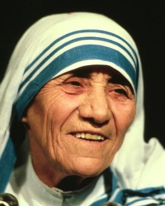 Mother Teresa Claymore