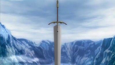 Claymore Sword Burial