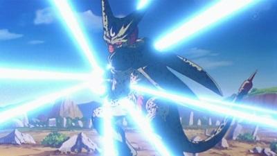 Dragon Ball Z, Cell's light show
