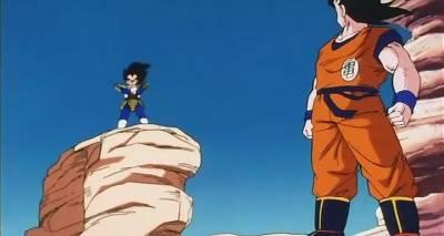 Dragon Ball Z, Goku to Vegeta