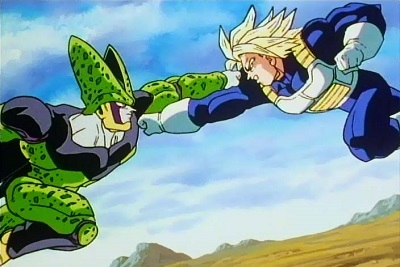 Dragon Ball Z, Trunks to Cell