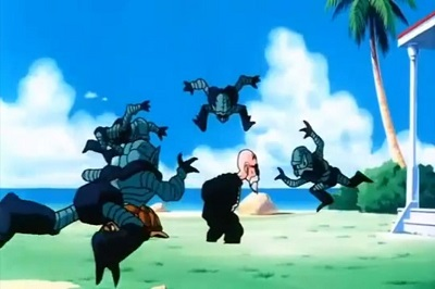 Dragon Ball Z, Roshi's strength