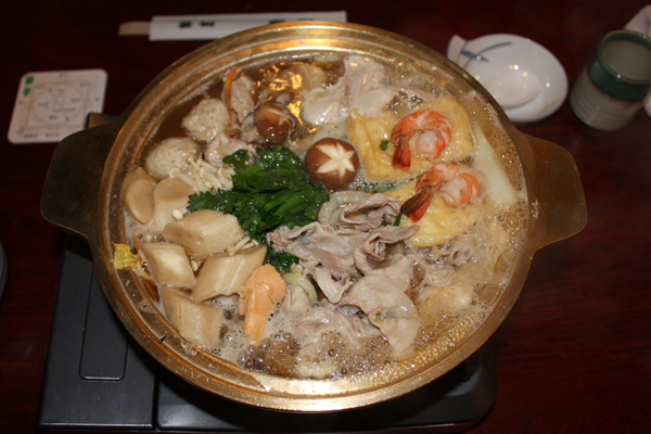 Winter Japanese Foods Chanko