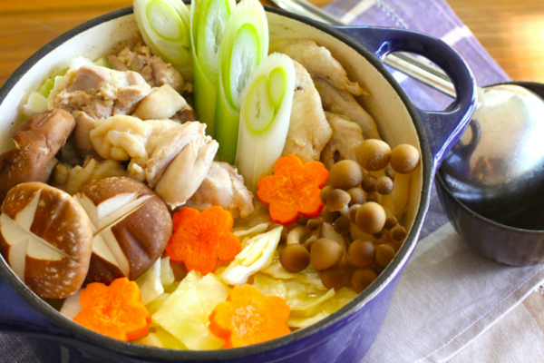Winter Japanese Foods Mizutaki