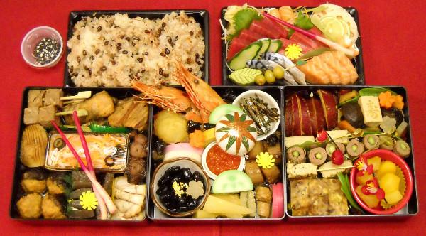 Winter Japanese Foods Osechi