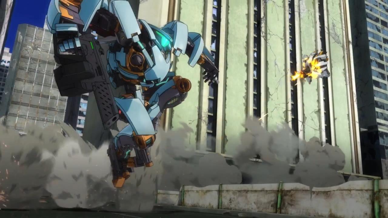 Rakuen Tsuihou Expelled from Paradise anime Angela Balzac 3D animation