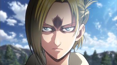 Shingeki no Kyojin Annie Angry Attack on Titan quotes