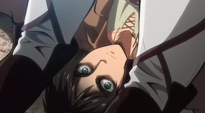 Shingeki no Kyojin Eren Upside Down Attack on Titan quotes