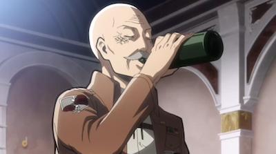 Shingeki no Kyojin Dot Pixis Drink Attack on Titan quotes