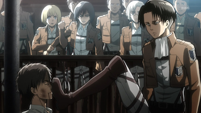 Shingeki no Kyojin Levi Kick Attack on Titan quotes