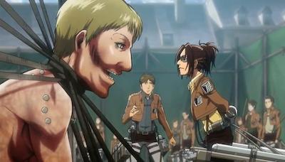 Shingeki no Kyojin Zoe and Sawney Attack on Titan quotes
