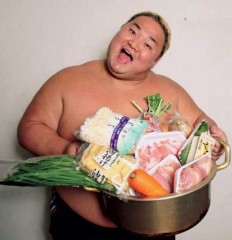 Winter Japanese Foods sumo chanko nabe