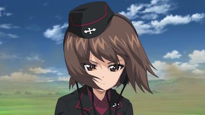Girls Und Panzer Maho Nishizumi