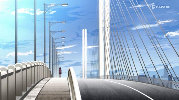 Hanamonogatari Sugaharashirokita Bridge