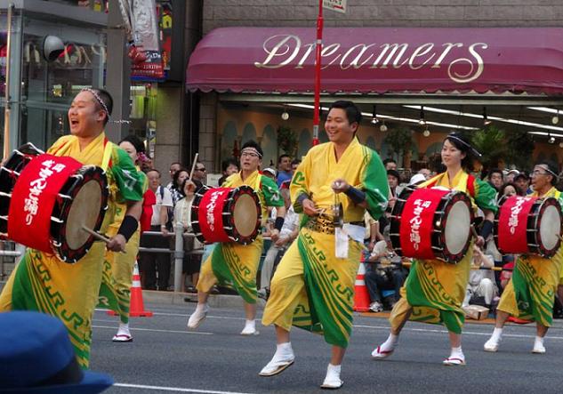 Ueno Natsu Matsuri Parade