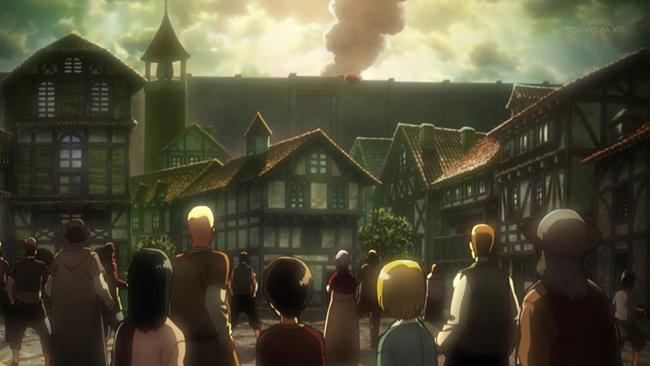 Shiganshina - Attack on Titan Towns