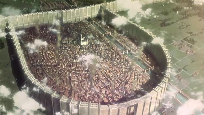 Trost - Attack on Titan Towns