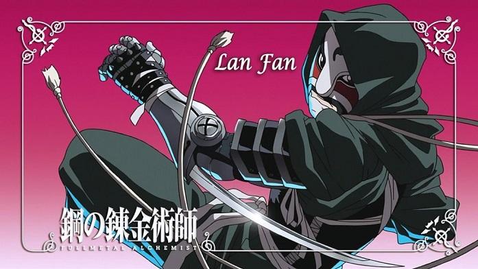Fullmetal Alchemist Lan Fan character poster