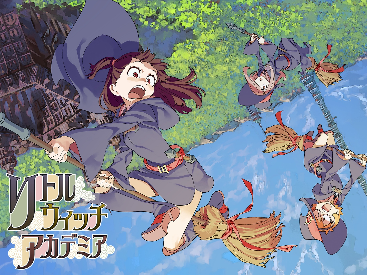 Little Witch Academia Top