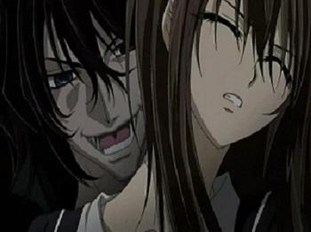Vampire Knight Pureblood Rido and Yuuki