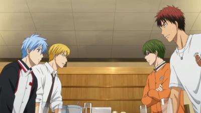 Kuroko, Kagami, Rise & Midorima - Kuroko no Basket