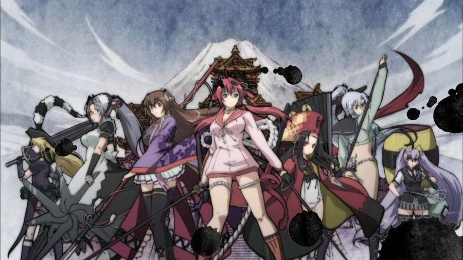 Senran Kagura - Hyakka Ryouran: Samurai Girls